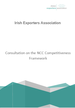 Consultation on the NCC Competitiveness Framework