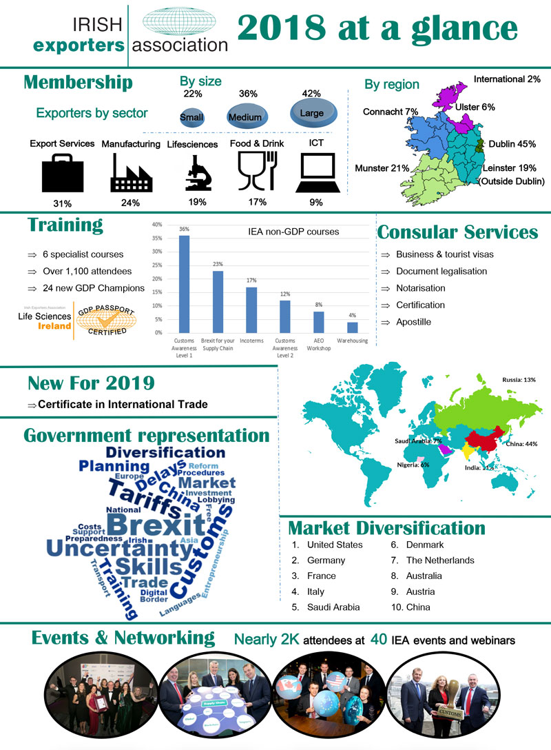 IEA Year at Glance 2018 Infographic