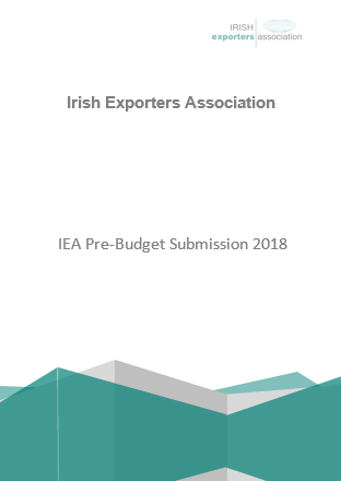 IEA Pre-Budget Submission 2018