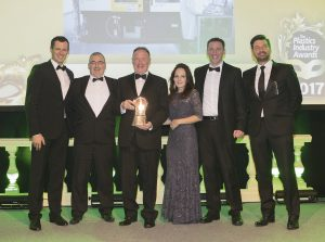 TREND TECHNOLOGIES WINS 2017 PLASTICS INDUSTRY AWARD