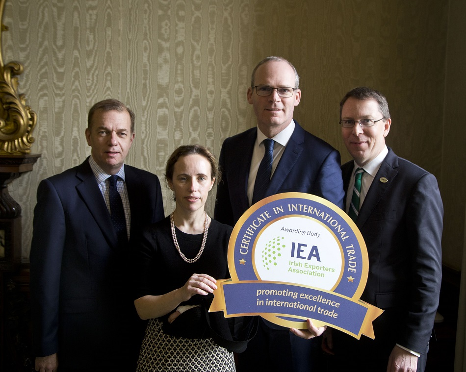 Tánaiste launches IEA Certificate in International Trade