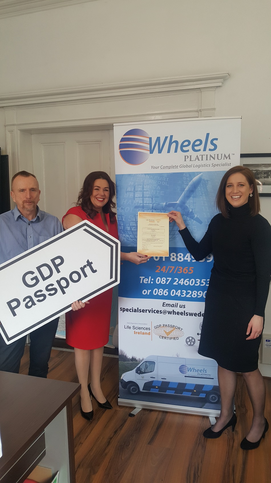 Wheels Platinum awarded GDP Passport accreditation