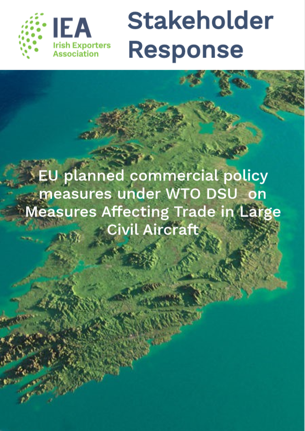 IEA response to planned EU commercial policy measures under the WTO DSU