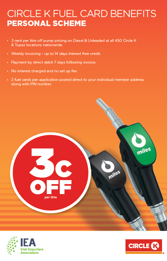 IEA and Circle K team up to offer members discounted Fuel
