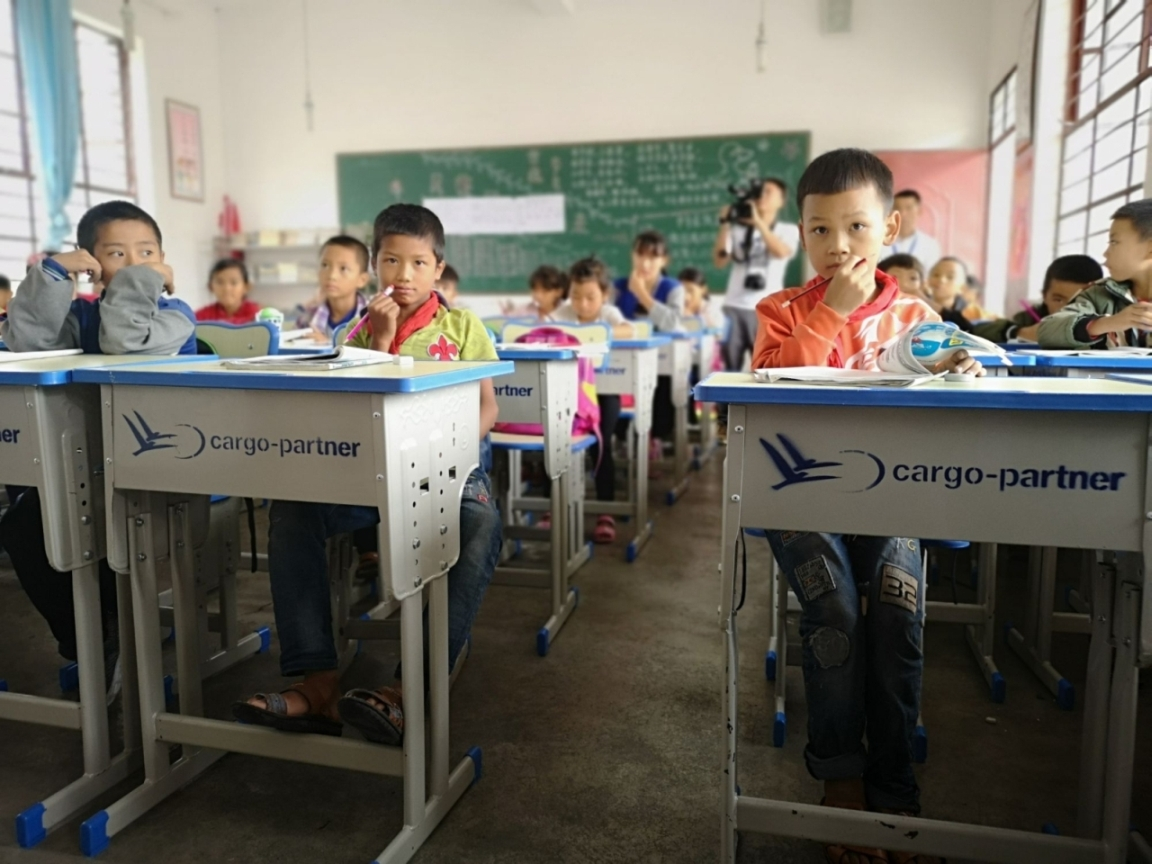 cargo-partner supports remote mountain school in China
