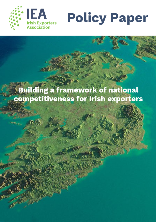 IEA Policy Paper: Building a framework of national competitiveness for Irish exporters
