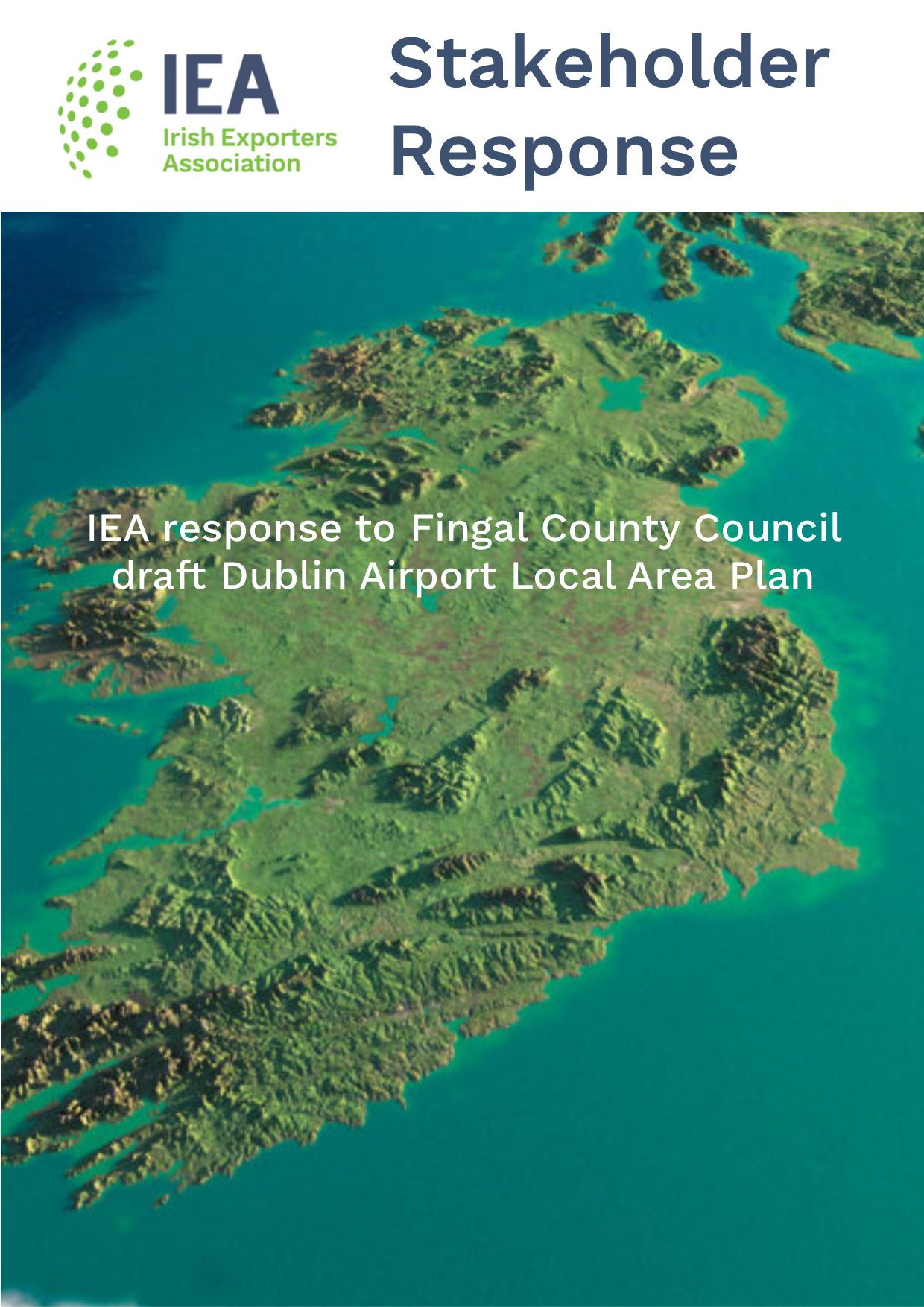 IEA response to Fingal County Council draft Dublin Airport Local Area Plan