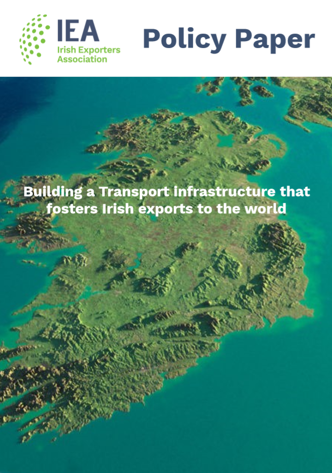 IEA Policy Paper: Building a Transport infrastructure that fosters Irish exports to the world