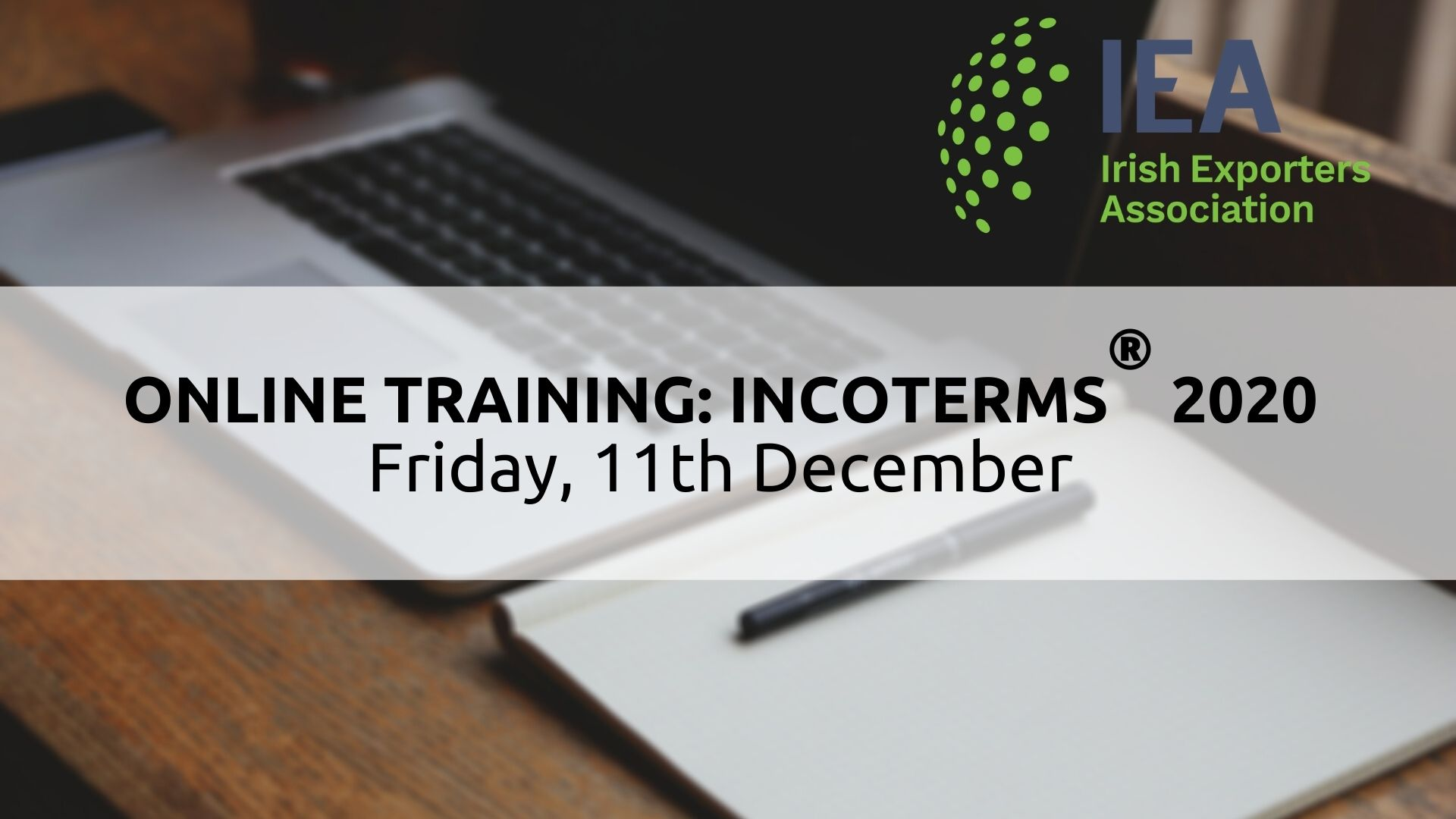 New Incoterms 2020 Training | 11th December