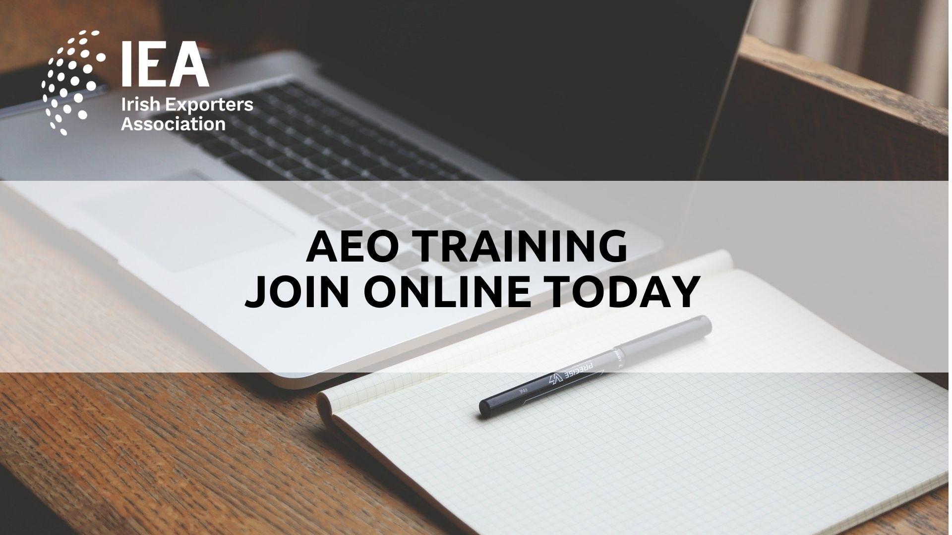 Authorised Economic Operator Training (AEO)