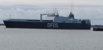 DFDS introduced fourth ferry to Rosslare to bring to 36 weekly direct services between Rosslare and Europe Rosslare