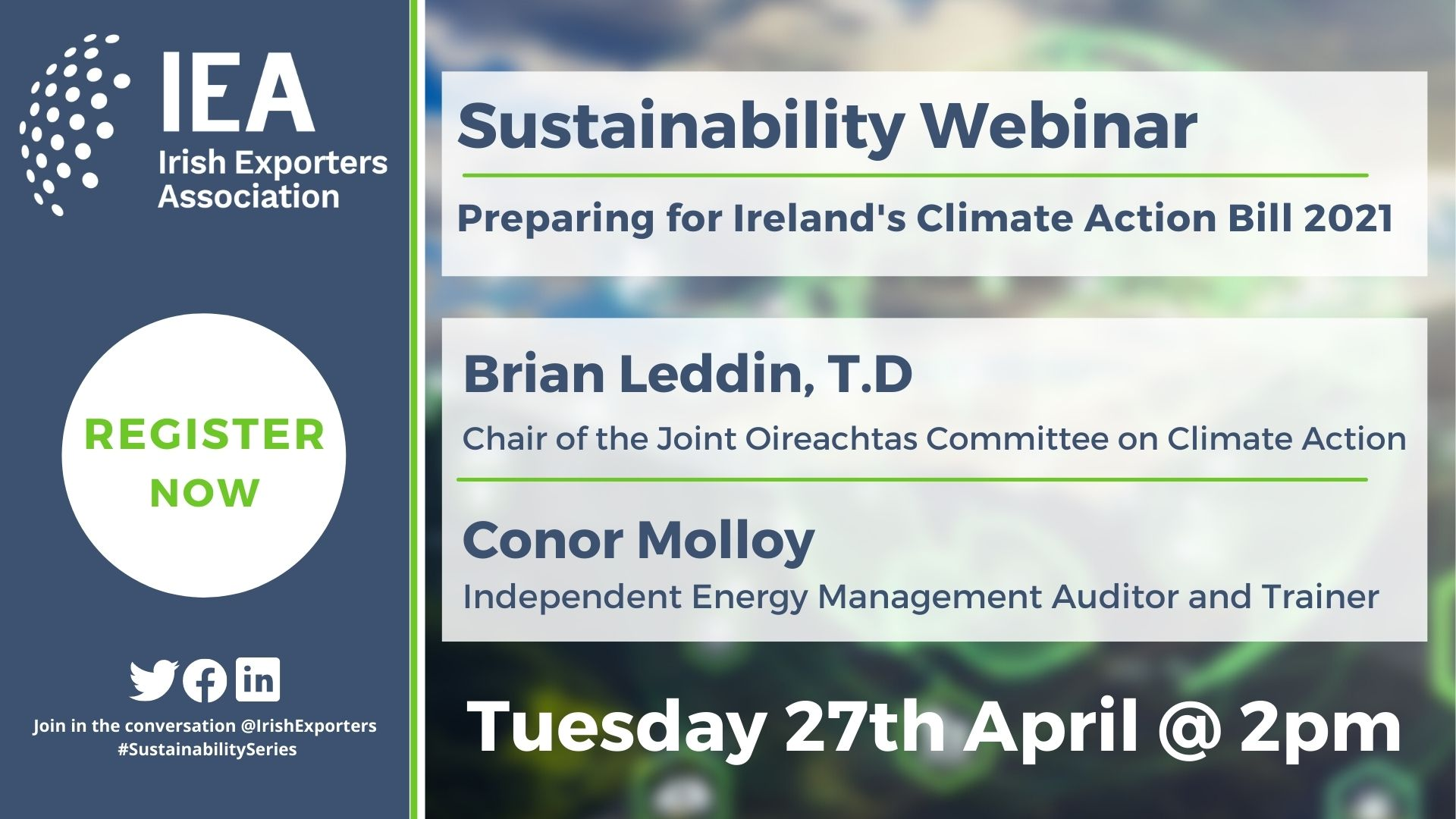Preparing for Ireland's Climate Action Bill 2021