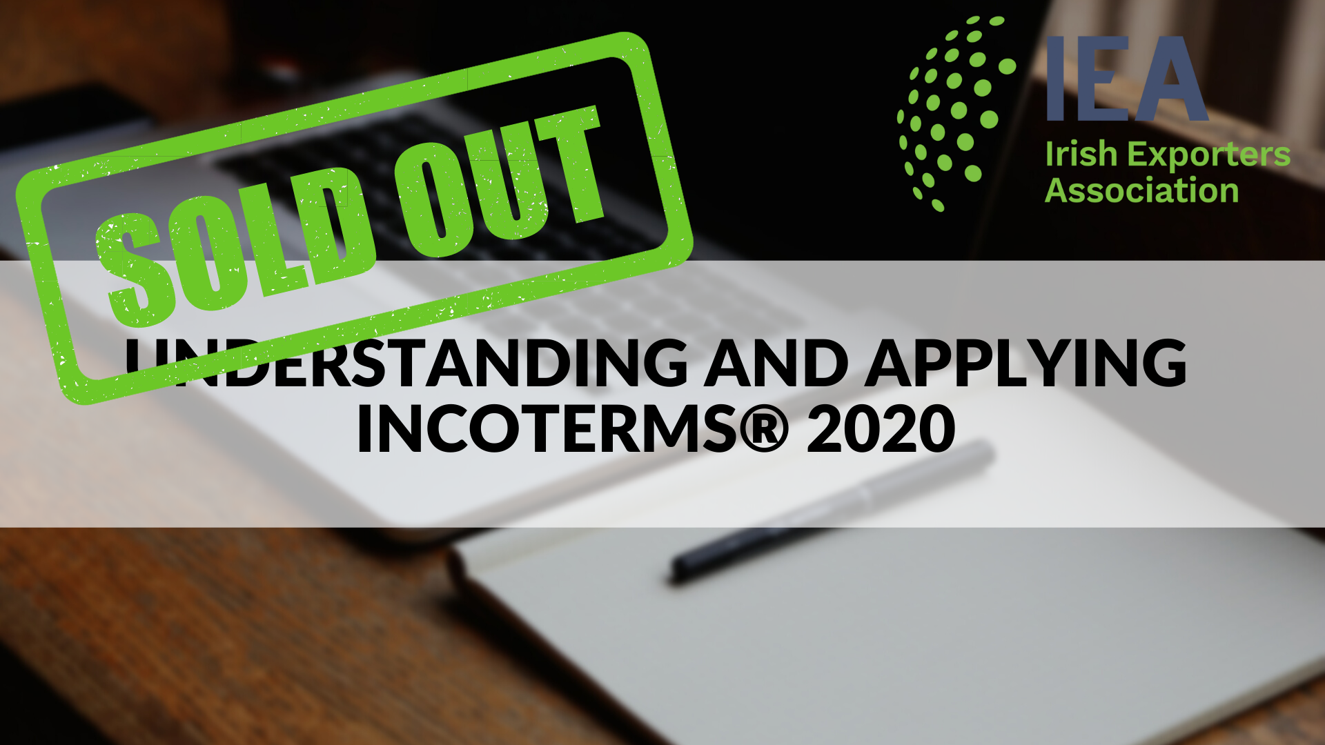 Understanding and Applying Incoterms® 2020