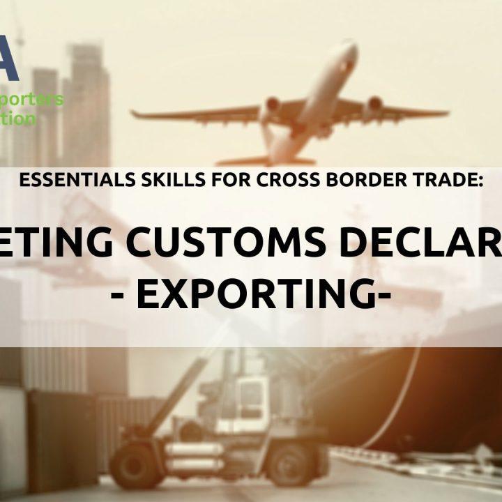 Brexit- Customs Declarations - export