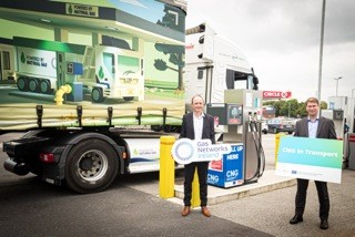 Gas Networks Ireland and Circle K open two new public Compressed Natural Gas stations in Limerick and Dublin